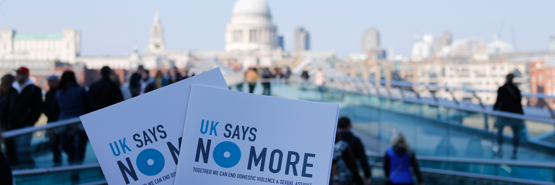 What is UK SAYS NO MORE?