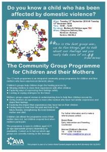 AVA Harrow Community Group Programme