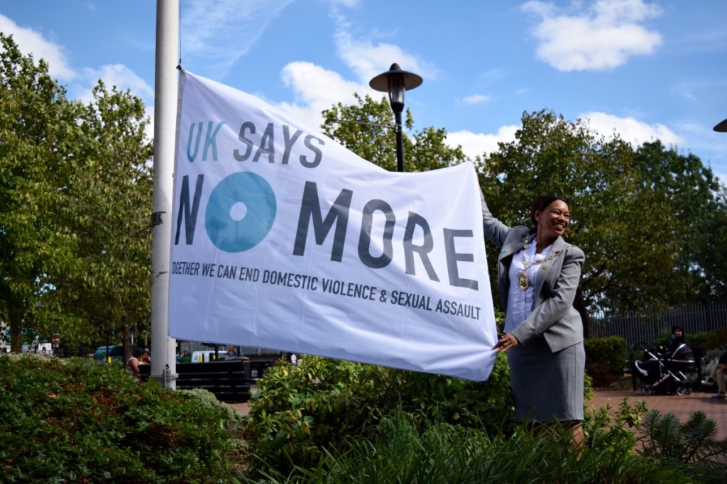 Merton Council's UK SAYS NO MORE Launch Event