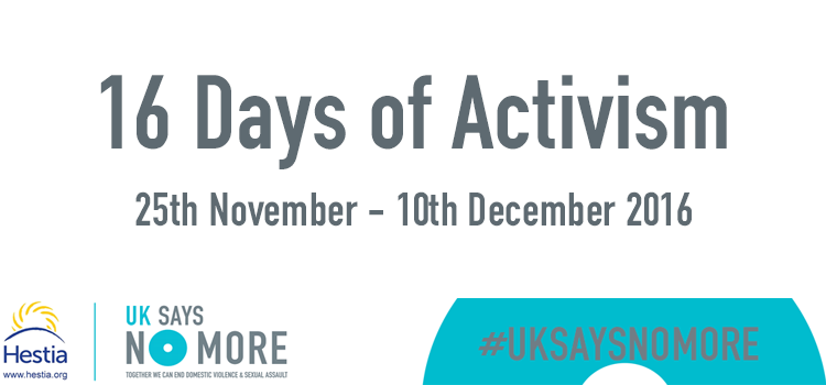 Join us during 16 Days of Activism!