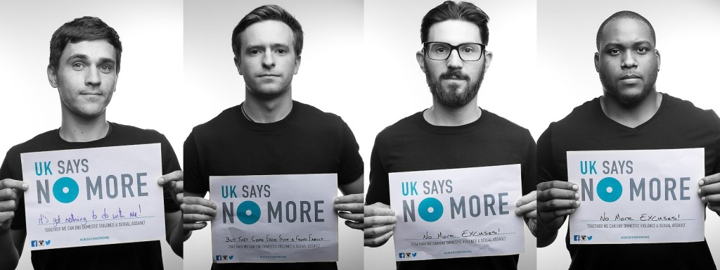 Reminis Studios & the UK SAYS NO MORE campaign