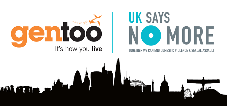 Gentoo join the UK SAYS NO MORE campaign
