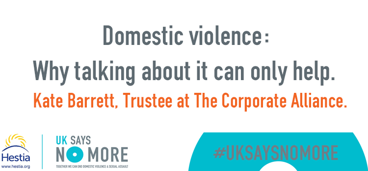Domestic violence: Why talking about it can only help