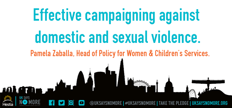 Effective campaigning against domestic and sexual violence