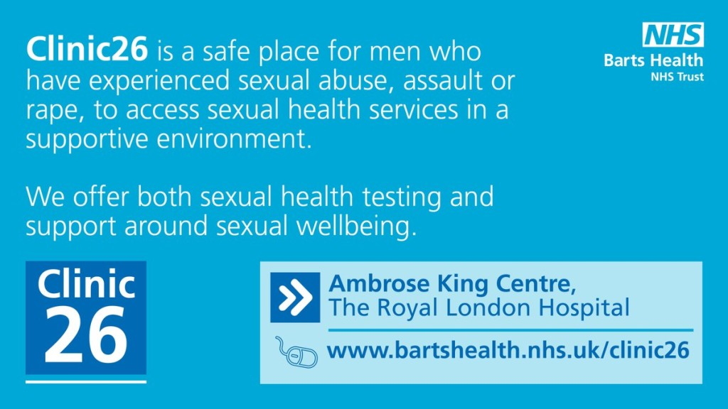 Male sexual health clinic london