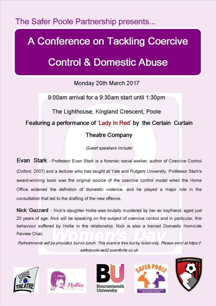 Coercive Control Conference 20th March Poster