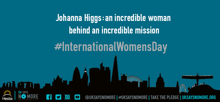 Johanna Higgs: an incredible woman behind an incredible mission