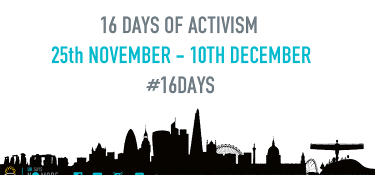 Join us during 16 Days of Activism 2017!