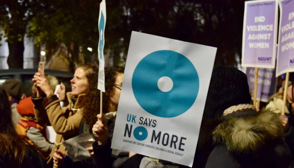 Are you marching at Reclaim the Night in London this November?
