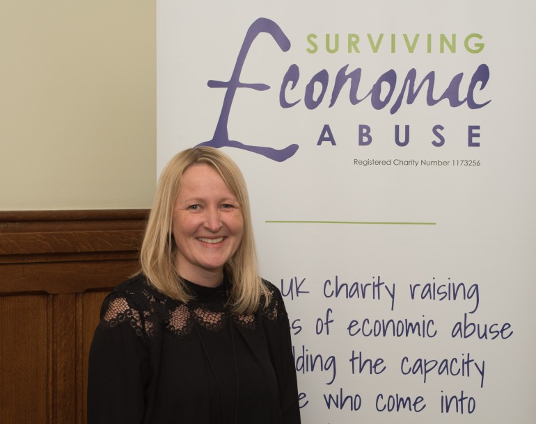 Dr Nicola Sharp-Jeffs is the Founder and Chair of Surviving Economic Abuse (SEA)