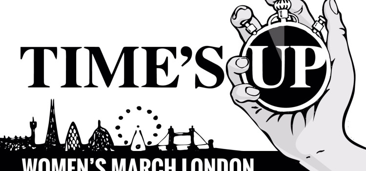 Join UK SAYS NO MORE at the Time's Up Rally this Sunday, 21st January
