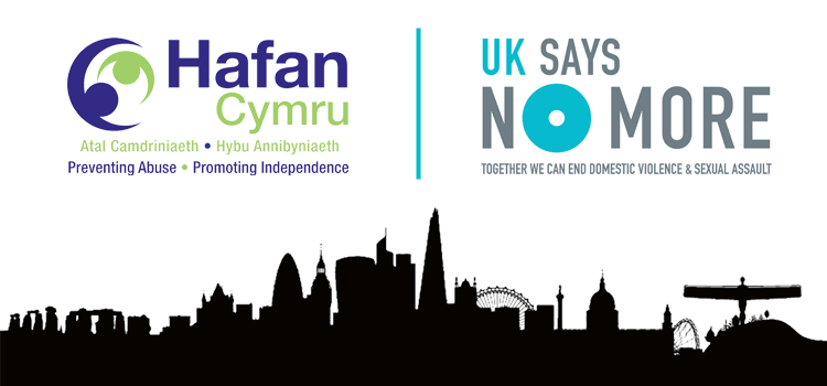 Hafan Cymru join the UK SAYS NO MORE campaign