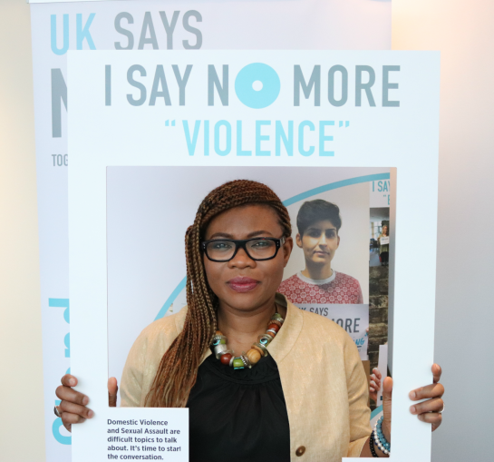 Society must work as one to end violence #NOMORE