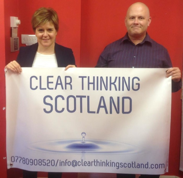 Nicola Sturgeon, First Minister of Scotland, discussed the current state of mental health provision in Scotland and learnt about the services Clear Thinking Scotland are providing for the people of Glasgow & Lanarkshire.