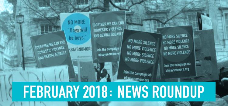 February 2018: News Roundup