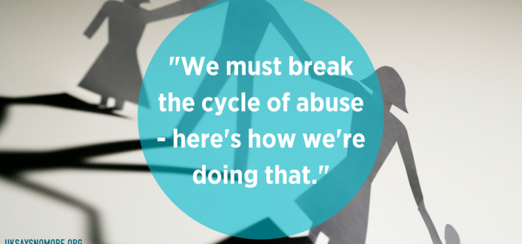 This is how we break the cycle of abuse