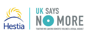 Hestia and UK SAYS NO MORE - Logos Joined