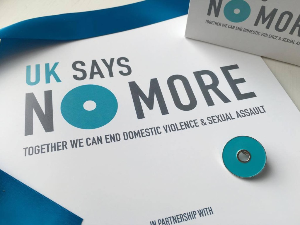 Get your UK SAYS NO MORE pin!