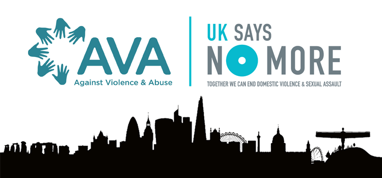 AVA Joins the UK SAYS NO MORE Campaign