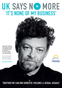 Andy Serkis - Print Ads: UK SAYS NO MORE