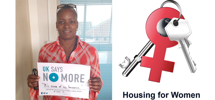 Housing For Women Join UK SAYS NO MORE Campaign