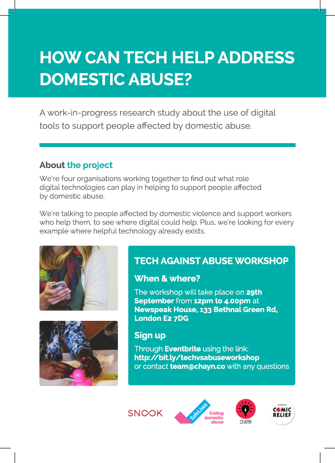 Tech VS Abuse: How Can Tech Help Address Domestic Abuse