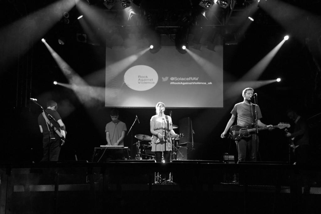 Solace Women's Aid Rock Against Violence Music Event