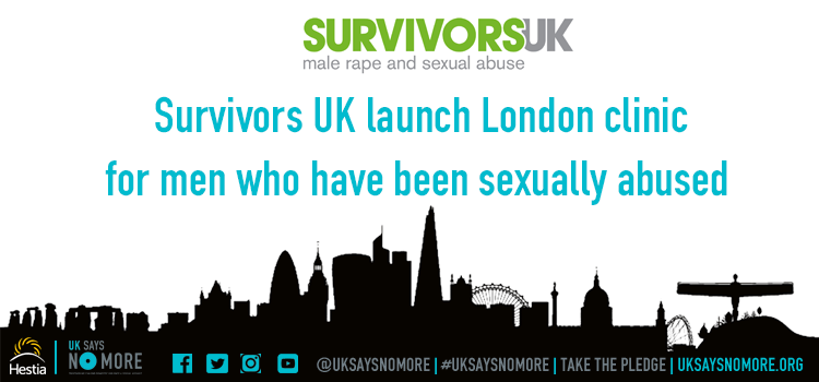 Survivors UK launch first clinic for sexually abused men