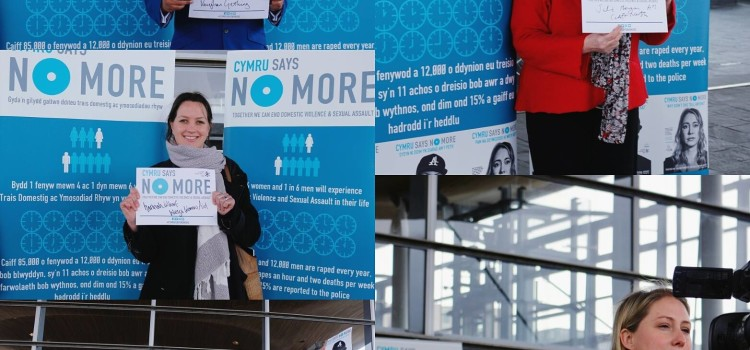Cardiff Women's Aid Bring NO MORE Campaign to Wales