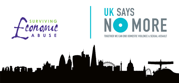 Surviving Economic Abuse joins UK SAYS NO MORE!