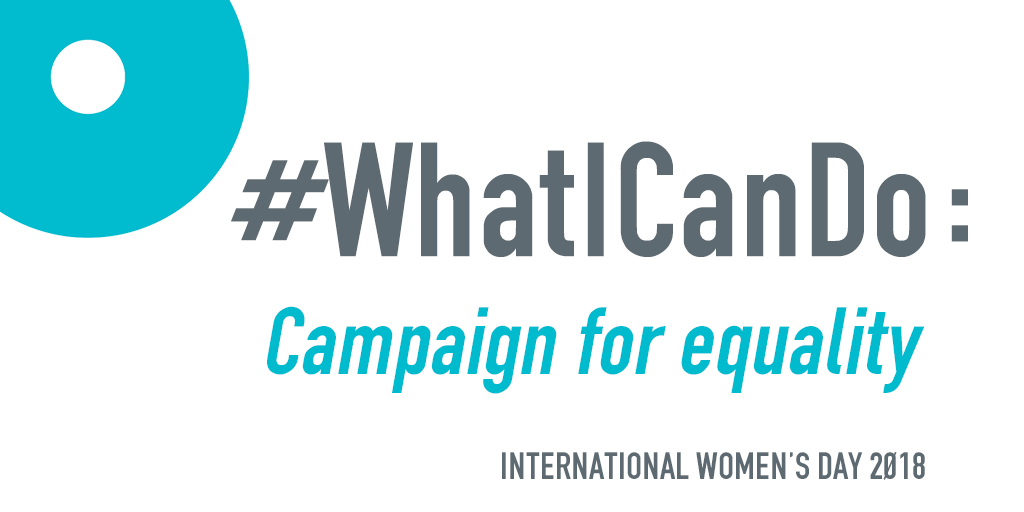How can we all #PressForProgress on International Women's Day?