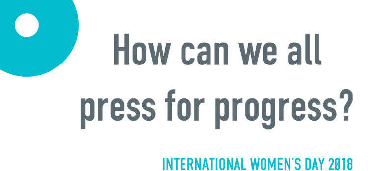 How can we all #PressForProgress on International Women's Day?