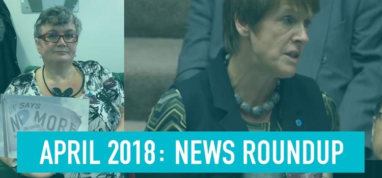April 2018: News Roundup